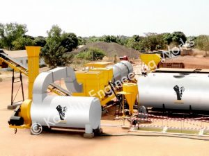 Asphalt Drum Mix Gambia Plant