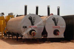 Bitumen Heating Storage