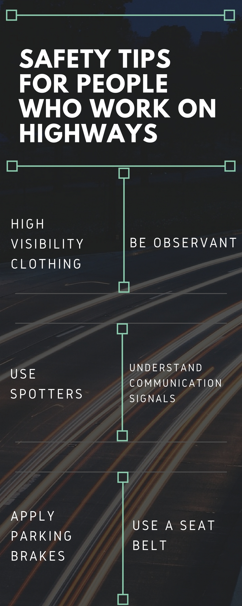 Road Construction Work Zone Safety Tips