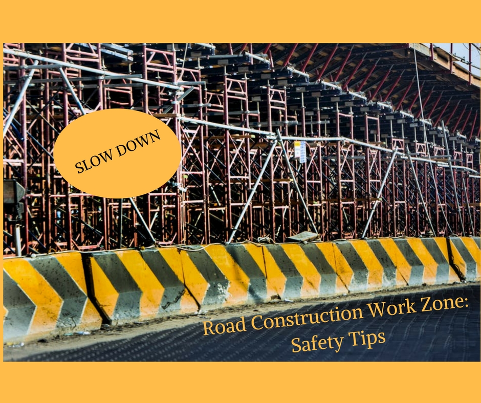 Road Construction Work Zone