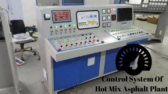 Hot Mix Asphalt Plant Control System