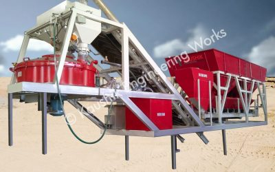 Concrete Batching Plant Installation